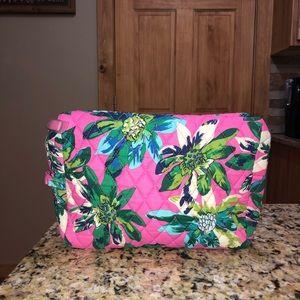 Vera Bradley Large Cosmetic Bag Tropical Paradise